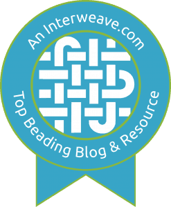 Interweave.com Top Beading Blog and Resource Badge