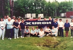 The Xuron Family circa 1989