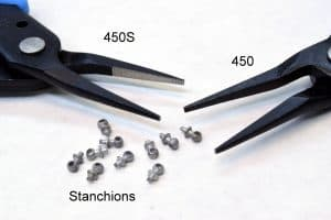 Xuron® TweezerNose™ Pliers with finely tapered tips are excellent for handling small items like stanchen pins