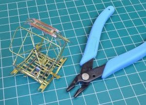 building a model trolley pantograph