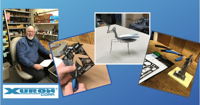 Banner-Q & A with Tony Bonti – Building Metal Earth® 3D Models using Xuron® Tools