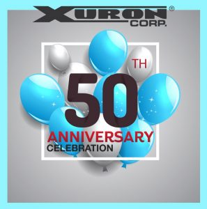 Xuron Corporation Celebrates Our 50th Anniversary.