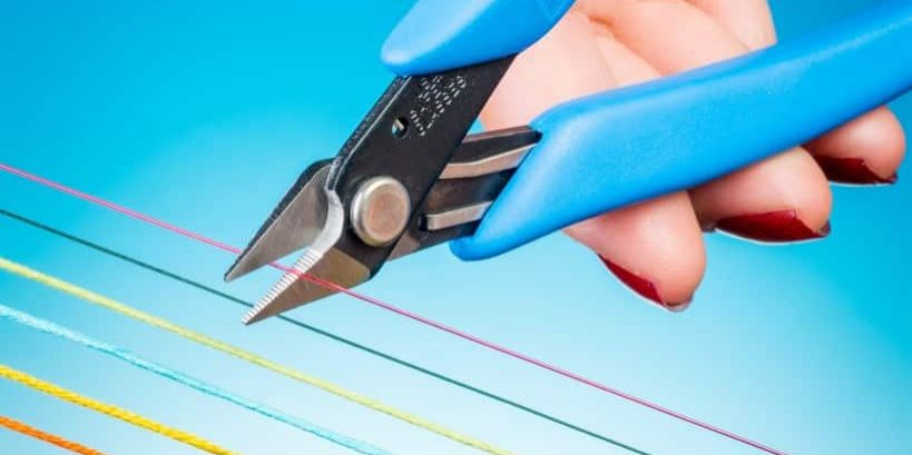 Xuron® Model 441 Thread and Cord Scissors for Bead Weaving and Jewelry Making.