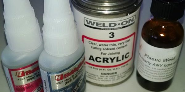 Glues, Cement and Solvents for Plastic Model Building.